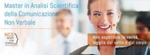 Master in Analisi Scientifica della Comunicazione Non Verbale espressioni facciali